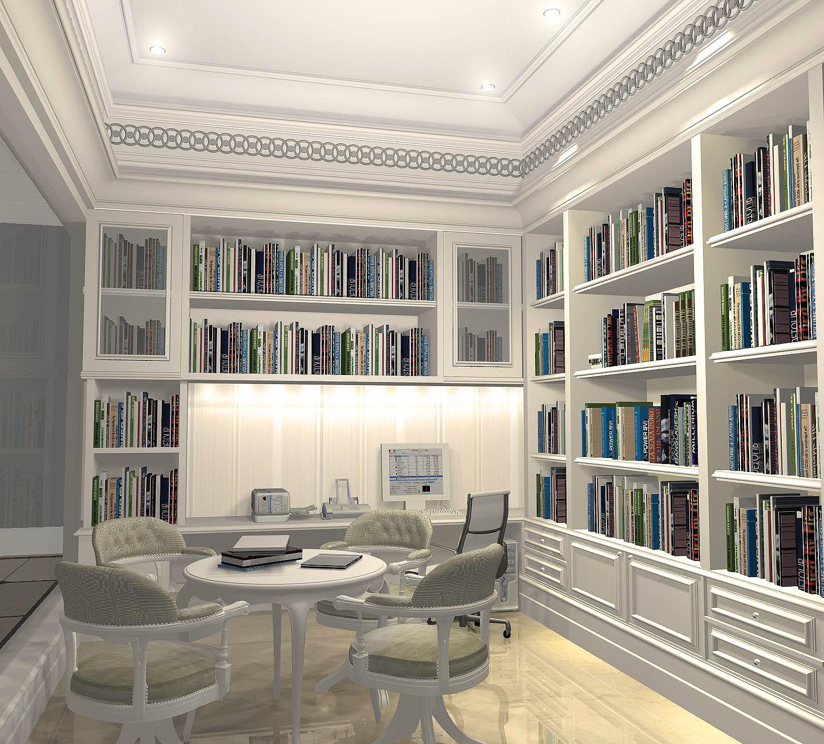jasa interior ruang belajar